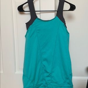 Workout top with built in bra!